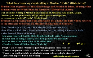 kafir namecalling