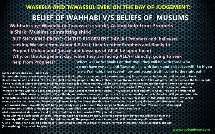 waseela in the judgement day