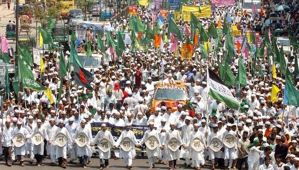 Mawlid Nabi celebrations in Dhaka, Bangladesh