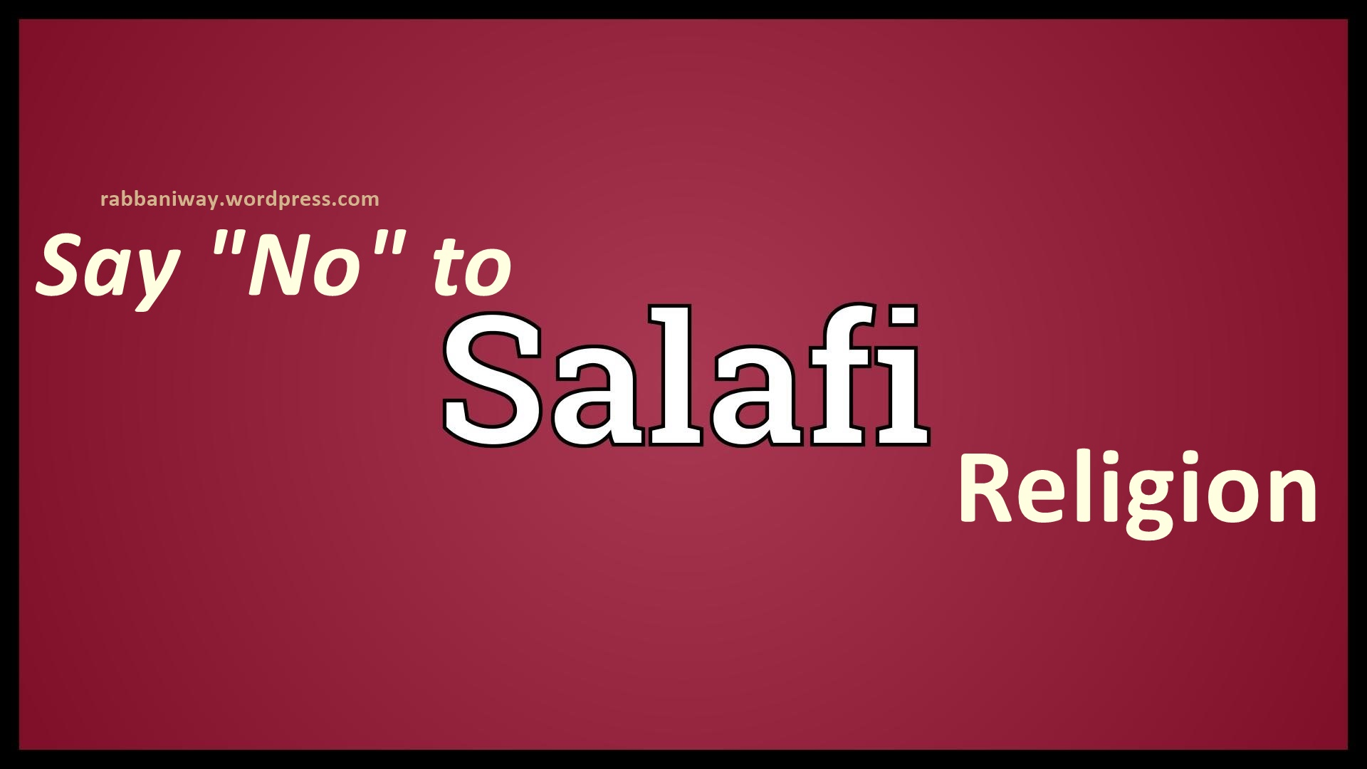 Hadiths that expose Salafis